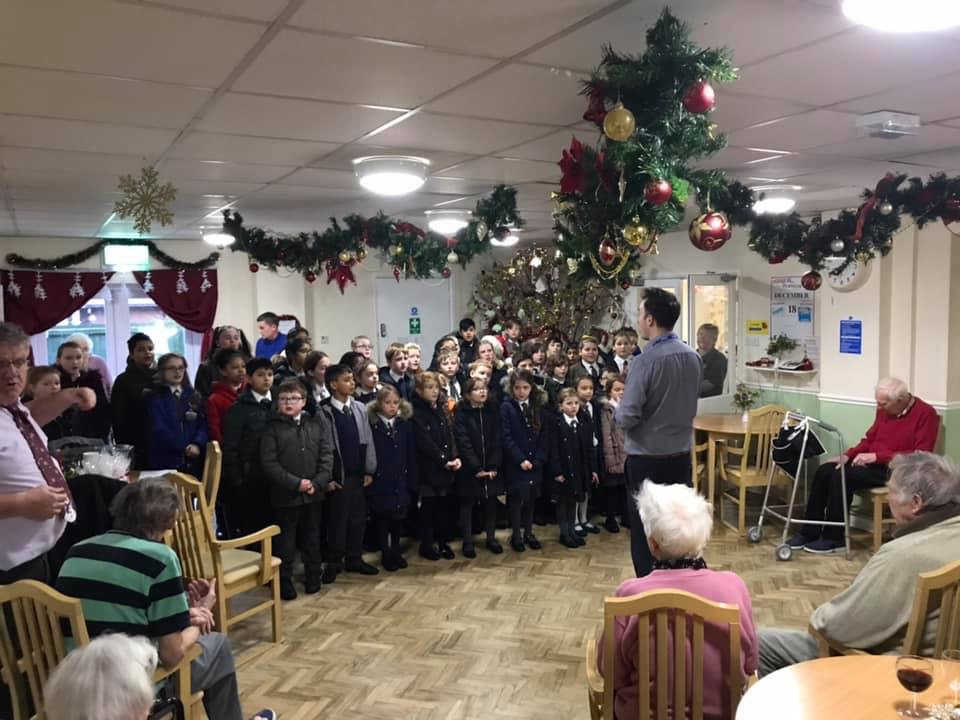 St Christopher's School Choir Visit